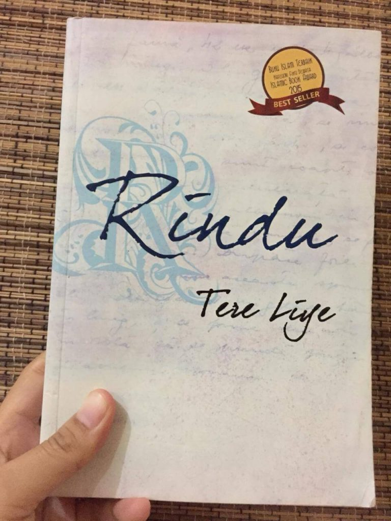 Novel tere liye, rindu